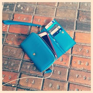 Leather iPhone Six Case And Clutch