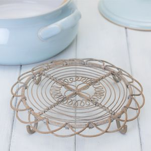 Decorative Wire Trivet - kitchen accessories