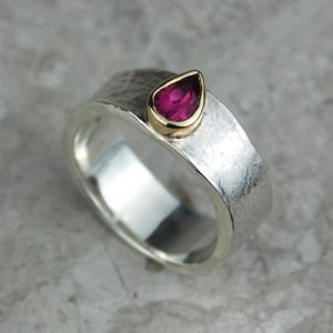 Jorinda Pink Tourmaline October Birthstone Ring - rings