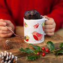 Silver Robins Mug Cake Gift Set For Chocolate Lovers