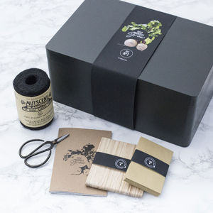 The Mighty Seed Storage Box In Black - lust list for him