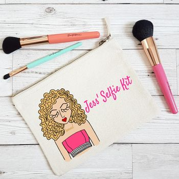Personalised 'New Spring Summer Wardrobe' Make Up Bag