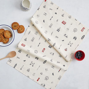 Simply London Tea Towel - kitchen accessories