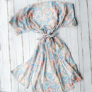 Something Blue, Personalised Kimono Gown