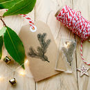 Christmas Pine Sprig Clear Stamp