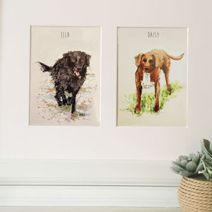 Bespoke Pet Portraits - limited edition art