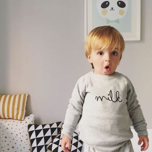 'Milk' Sweatshirt - jumpers & cardigans