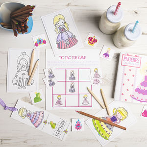 Personalised Princess Activity Bundle