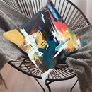 Abstract Art Cushion 12x12 Inch / 18x18 Inch