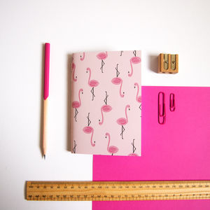 Flamingo A6 Notebook - tropical flavour