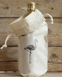 Flamingo Bottle Bag