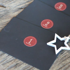 Advent Calendar Envelope Set