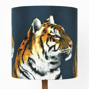 Tigers Lampshade - children's lighting
