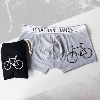 Personalised Men's Pants For The Cycling Enthusiast