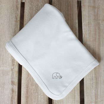 Organic Classic Cotton Baby Blanket