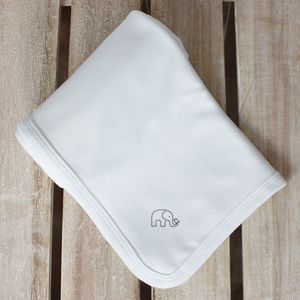 Organic Classic Cotton Baby Blanket - blankets, comforters & throws