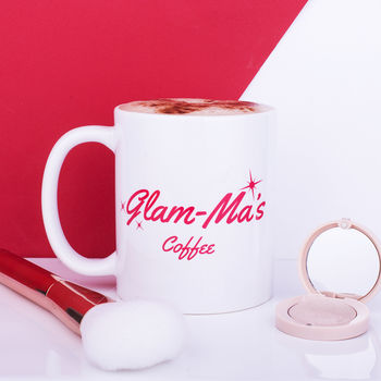 'Glam Ma' Personalised Ceramic Mug