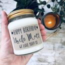 Personalised 'Happy Birthday' Soy Scented Candle