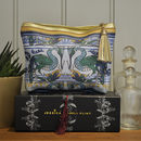 Make Up Bag 'The Heron And Carp'