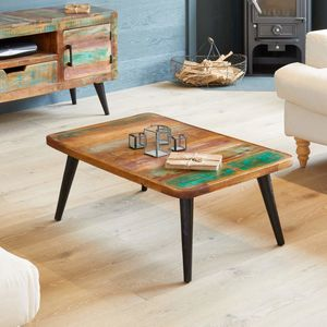 Dunes Reclaimed Wood Coffee Table - furniture