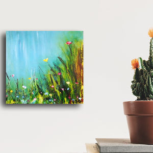 Spring Galore Original Acrylic Painting - paintings