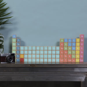 Periodic Block Set - decorative accessories