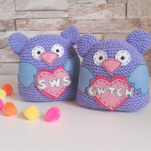 Welsh Wedding Love Birds - wedding favours