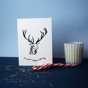 Majestic Christmas Greetings Card - what's new