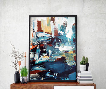 Abstract 45 Limited Edition Fine Art Print A4 Size