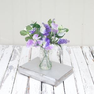 Sweet Pea Bouquet - room decorations