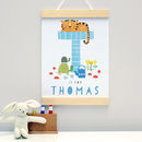 Personalised New Baby Gift Wall Hanging
