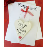 Personalised Engagement Card - cards
