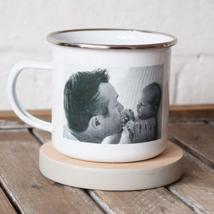 Personalised Photo Enamel Mug - home sale
