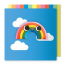 Rainbow Magnet Card