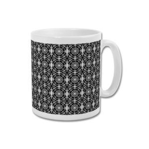 'Craven Cottage Balcony' Minimalist Fulham Fc Mug - dining room