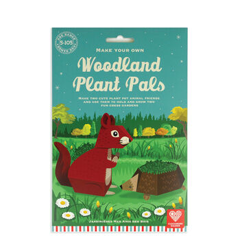 Make Your Own Woodland Plant Pals Cress Garden Kit