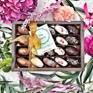Luxury Chocolate Dates Large Gift Box - cakes & treats