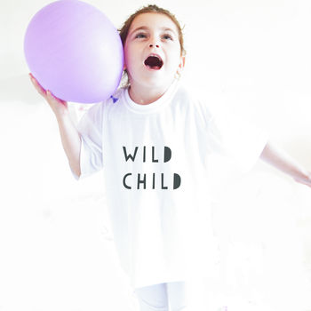 Children's Wild Child T Shirt