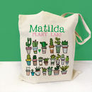 Personalised Plant Lady Bag
