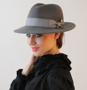 City Trilby - hats & fascinators