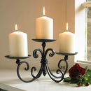 Timeless Charm Candelabra Table Centrepiece