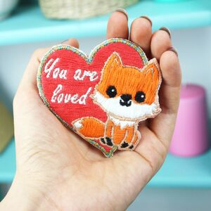 Fox Embroidery Kit, Beginners Craft Kit Gift