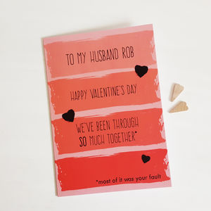 Valentine's Mostly Your Fault Card - valentine's cards