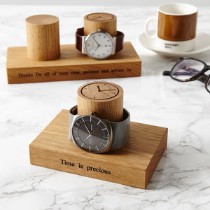 Gent's Single Watch Stand - personalised