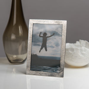 Sandstone Cast Pewter Photo Frame