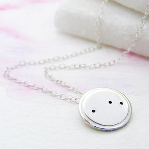 Personalised Map Of The Stars Necklace