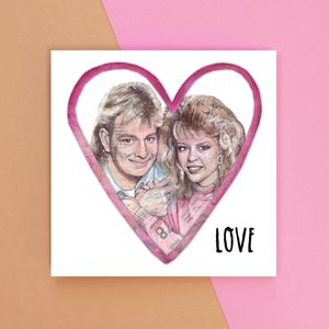 Love Scott And Charlene Greetings Card - love & romance cards