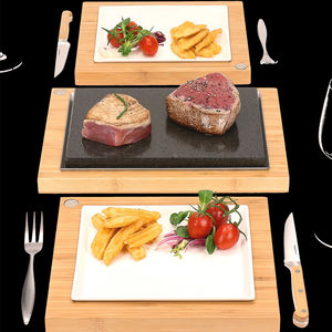 The Steak Stones Steak Sharer And Server Set