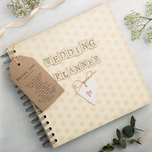 Wedding Planner Book - wedding day tokens