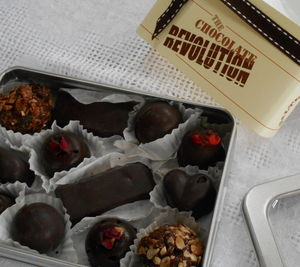 24 Raw Organic Naturally Sweetened Dark Chocolates